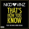 Thats How You Know feat Kid Ink Bebe Rexha Single