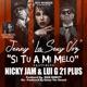 Si Tu a Mi Melo feat Nicky Jam Lugi 21 Plus Single