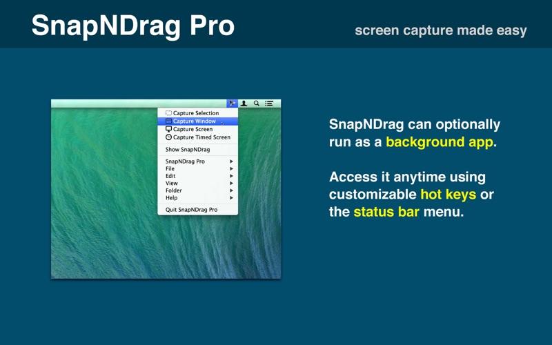 SnapNDrag Pro Screenshot Screenshots