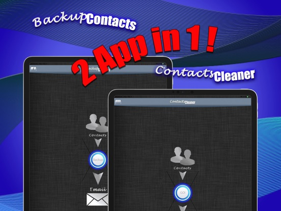 Backup Contacts Pro. Screenshots