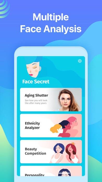 Face Secret App Screenshots