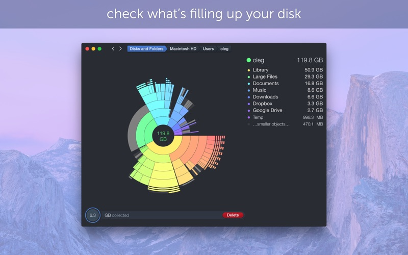 DaisyDisk Screenshots