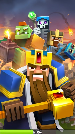 Great Royale Wars - Clash of Block Screenshot