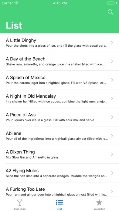 Cocktail Screenshots