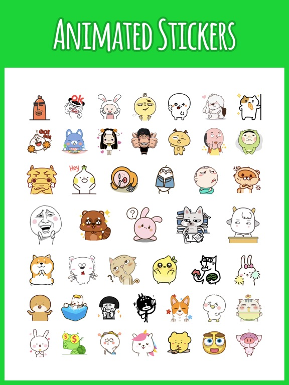 Stickers for iMessage! All Ver Screenshots