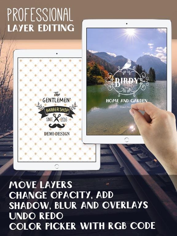 HD Logo Maker & Logo Design Screenshots