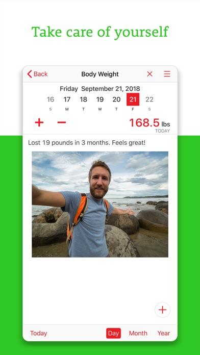 Daily Tracker+ Journal & Diary Screenshots