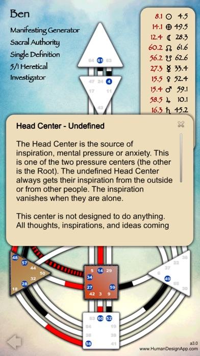 Human Design App Screenshots