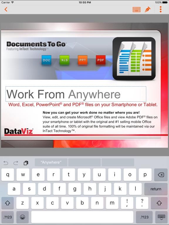 Docs To Go Premium Screenshots
