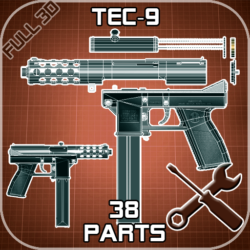 Tec-9 Disassembly 3D (iPhone) reviews at iPhone Quality Index