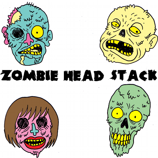 Zombie Head Stack icon