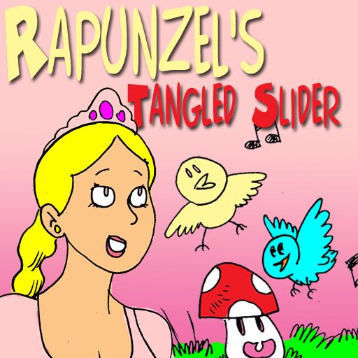 Rapunzel's Tangled Slider Puzzle