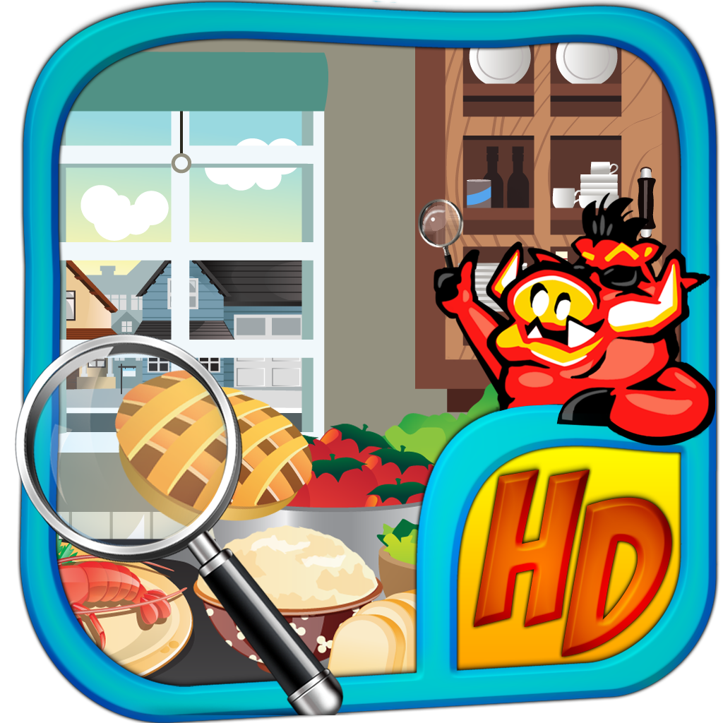 Messy Kitchen Hidden Object Games: Hidden Object Game (iPad) Reviews At IPad