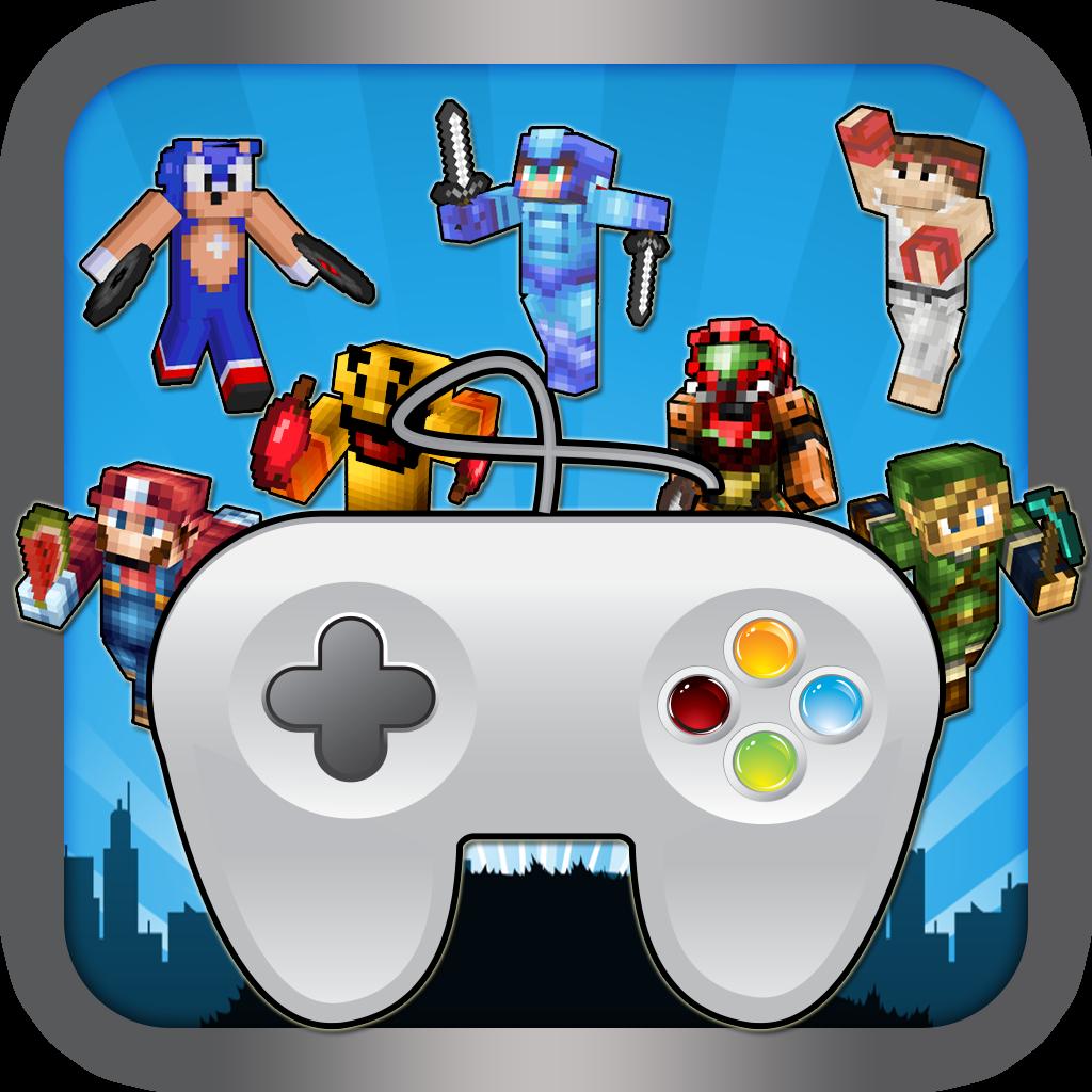 Console Hero Joystick - Watch the Ball Block Craft World Edition