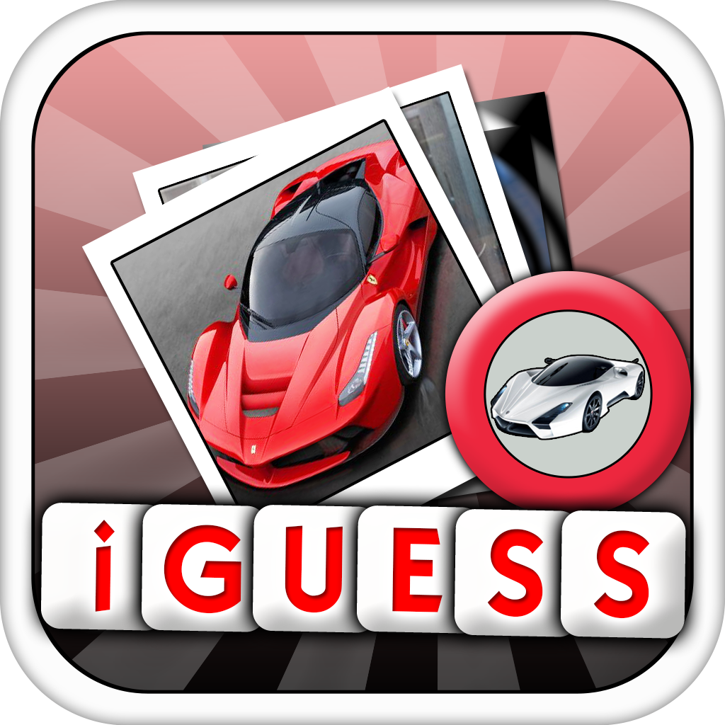 iGuess for 100 Greatest Supercars of All Time Pro ( Modern Cars and Racing Quiz )