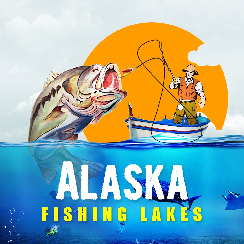 Alaska Fishing Lakes icon