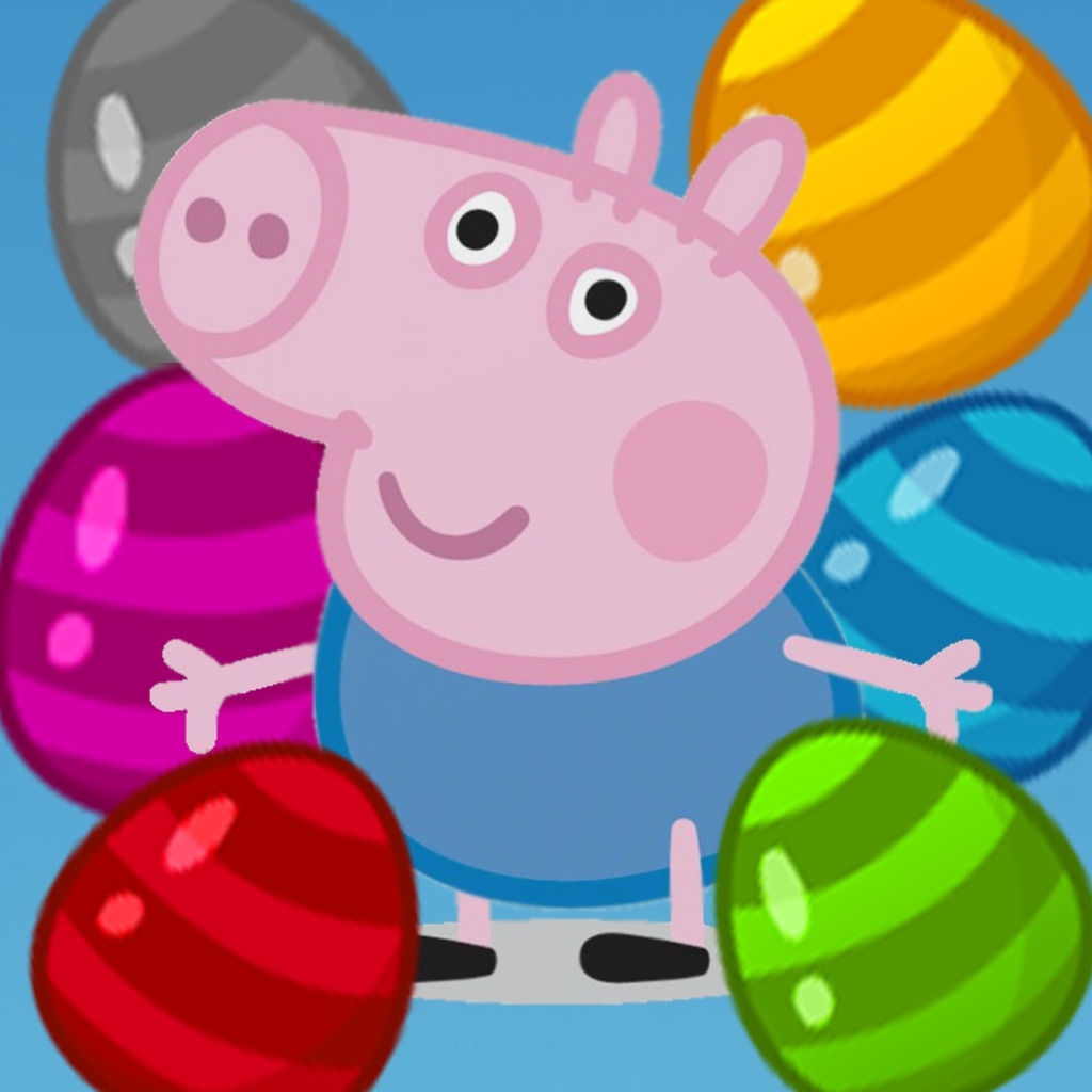 Bubble Shooter Peppa Pig edition
