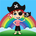 An entertainment app for your little pirate to enjoy