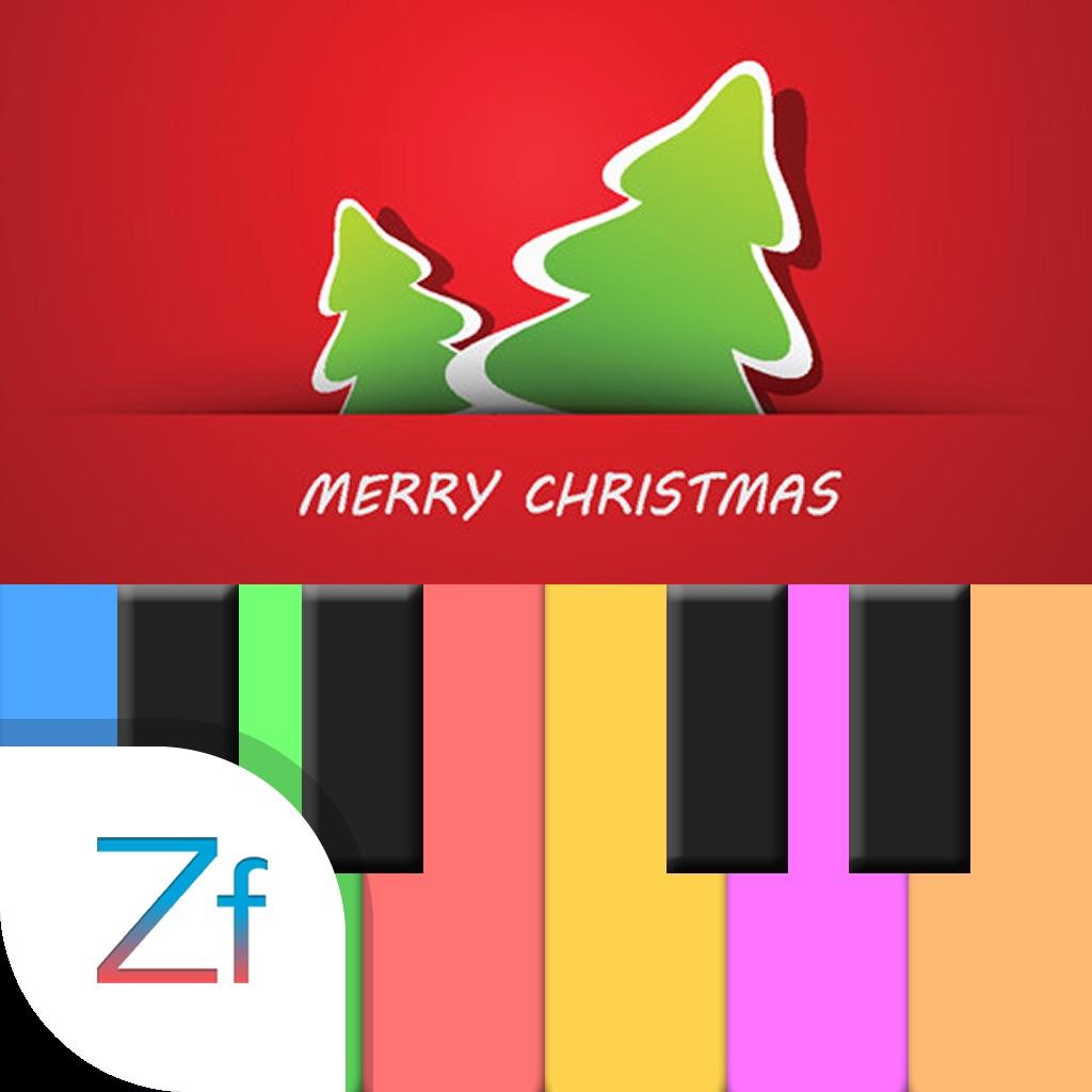 Magic piano Merry Christmas