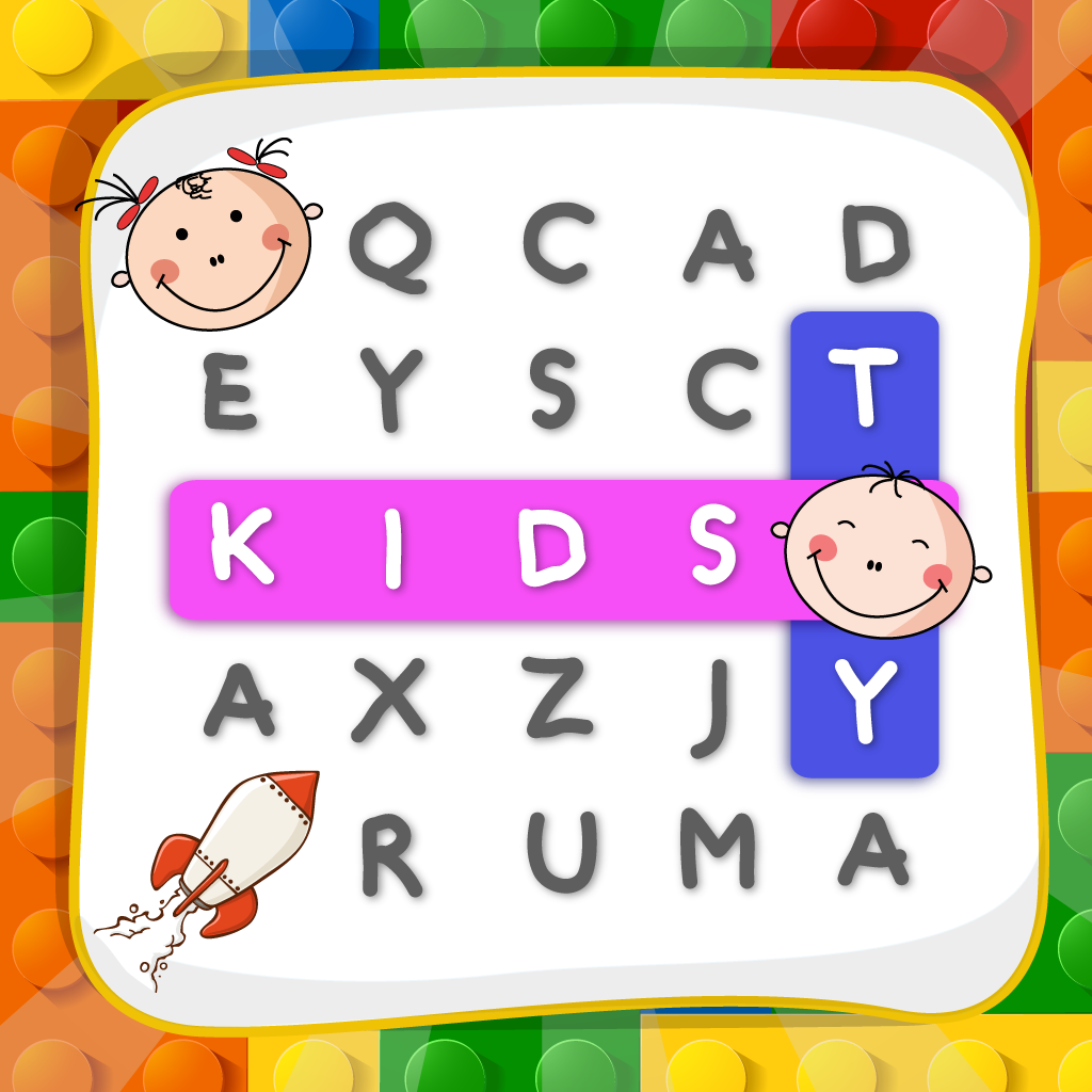 "Word Search For Your Kids ""Very Fun and Learn Edition"""