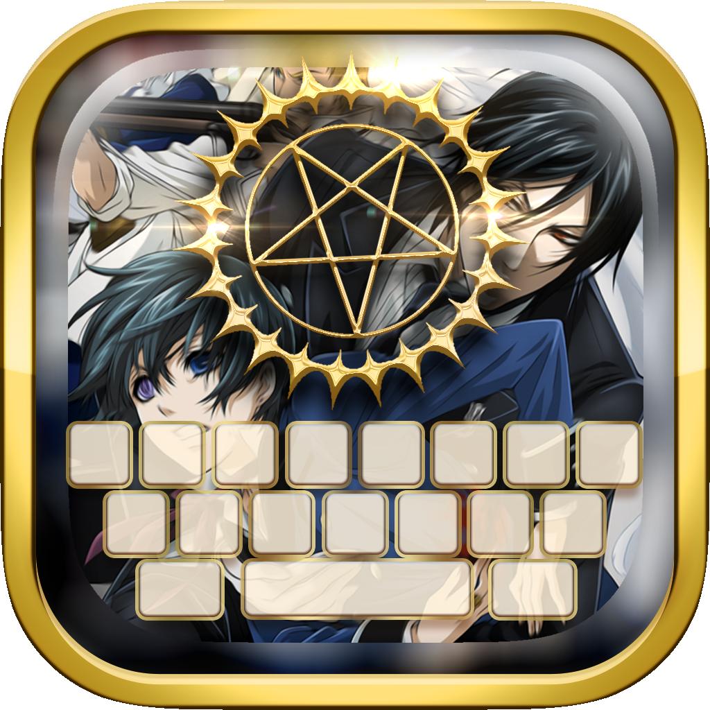 KeyCCM – Wallpaper Manga & Anime Keyboard Themes Black Butler Edition