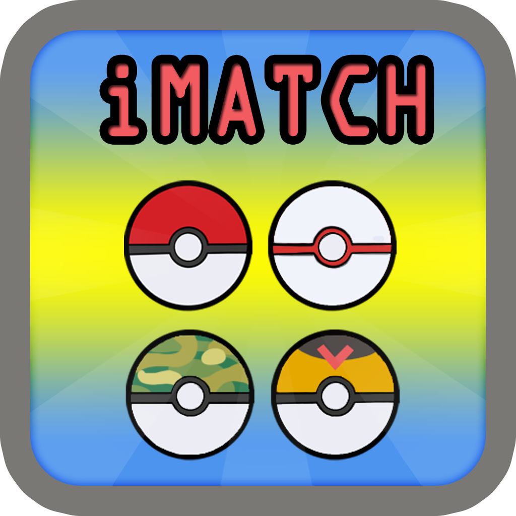 iMatch Monsters Ball : x3 Match Puzzle in Pokeball Edition for every one