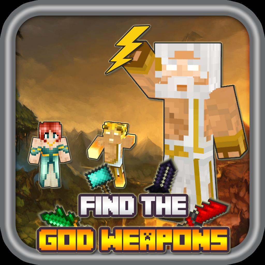 Greek Mythology Heroes find God Weapons ( Blocks Edition )