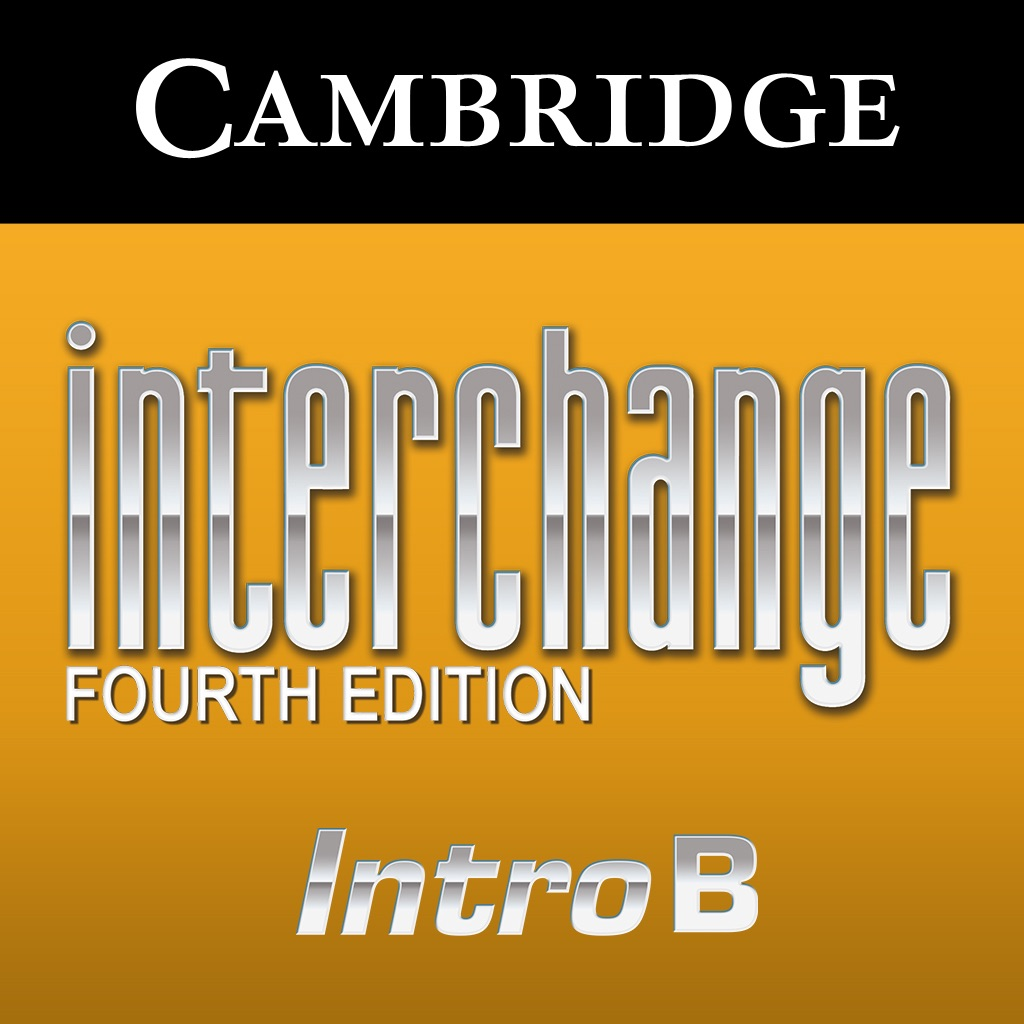 Interchange Fourth Edition, Level Intro B