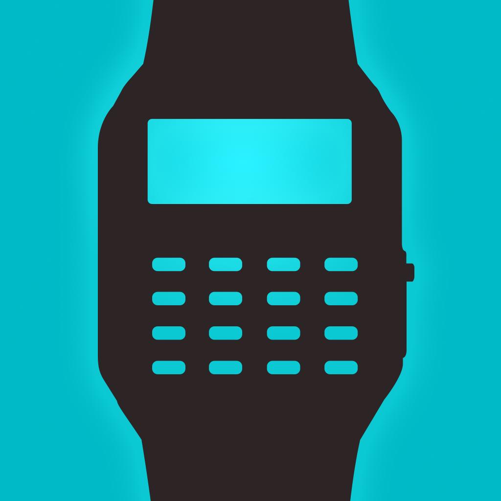 Geek Watch - Retro Calculator Watch