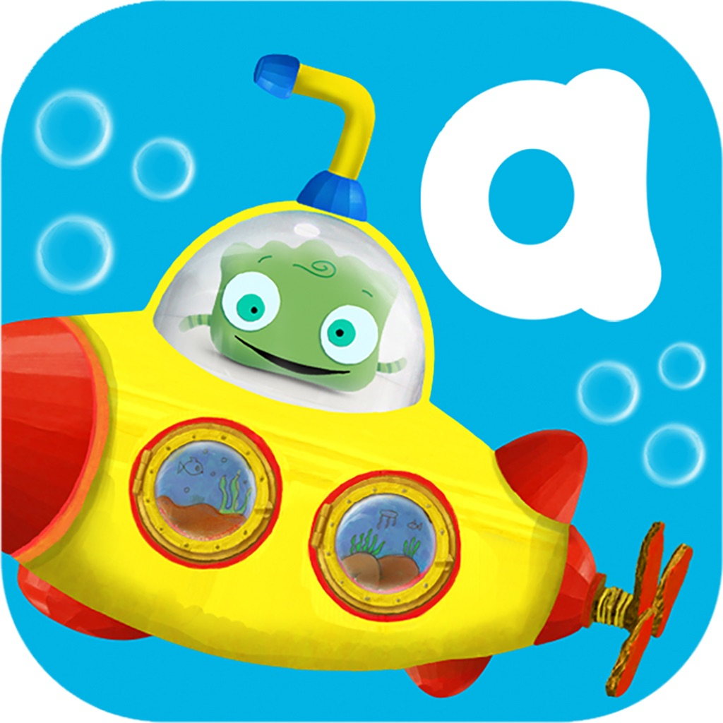 Tiggly Submarine: Explore the Depths of Short Vowels & Phonics