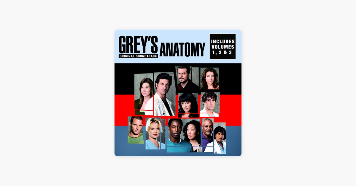 Grey\'s Anatomy, Vol. 1, 2 & 3 (Original Soundtrack) by Various ...