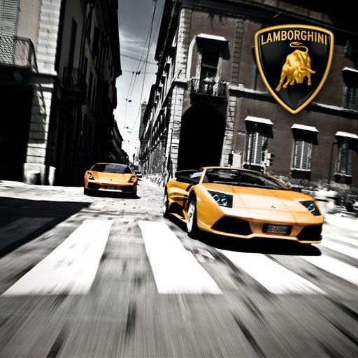 Cover image of The World of Lamborghini