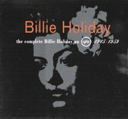 View album The Complete Billie Holiday On Verve 1945-1959