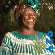 Nobel Laureate Wangari Muta Maathai with Chris Johnsat the 92nd Street Y