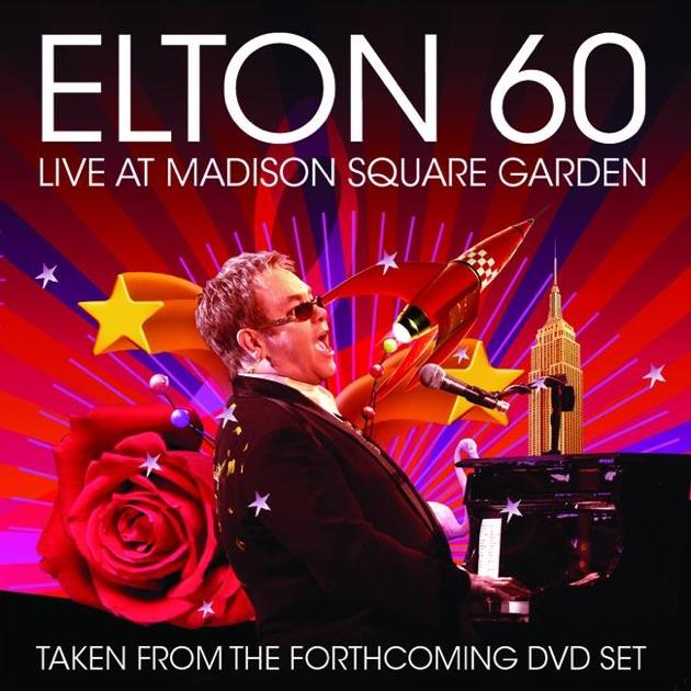 Resultado de imagen para elton john Elton John 60 Live At MSG