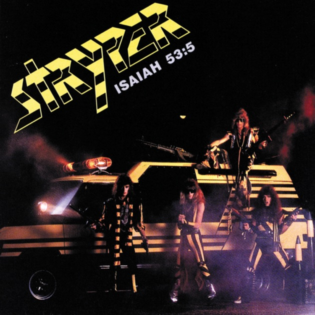 Album art exchange to hell with the devil by stryper album.