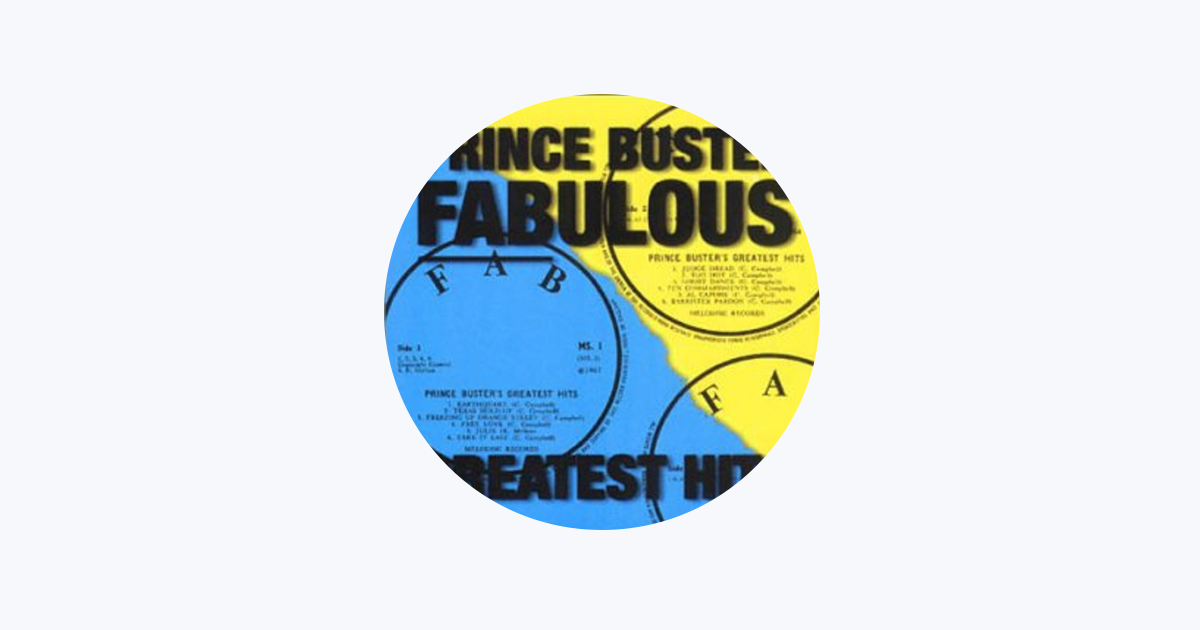 ‎Prince Buster on Apple Music