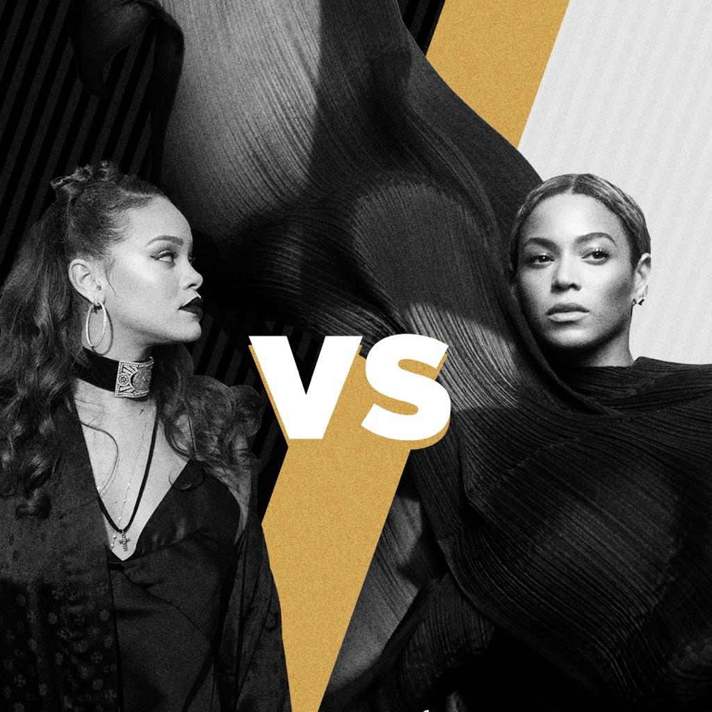 Rihanna vs Beyoncé