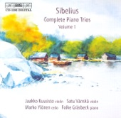 "Jaakko Kuusisto, Satu Vanska, Marko Ylonen, Folke Grasbeck - Sibelius: Complete Piano trios, Vol. 1 - Sibelius: Piano Trio in A minor (""Haftrask""), JS 207: I. Allegro maestoso"