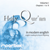 Noorbox Productions - The Holy Qur'an: A Modern English Reading, Volume I: Chapters 1-8 (Unabridged) artwork