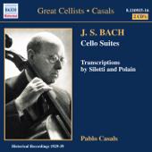 J.S.バッハ: 無伴奏チェロ組曲 第1-6番[パブロ・カザルス/ナクソス・ヒストリカルシリーズ]