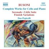 Duo Pepicelli - Kleine Suite (Little Suite), Op. 23: III. (Altes Tanzliedchen) Massig, doch frisch