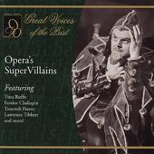 Opera's Super Villains (Live,Re-mastered)