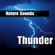 Cracks of Thunder With Rain Storm - Nature Sounds - Nature Sounds