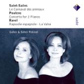 Saint-Saëns: Le Carnival des animaux - Poulenc: Concerto - Ravel: Rapsodie espagnole
