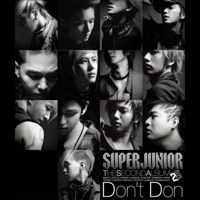 """The Second Album """"Don't Don"""" - Super Junior"""