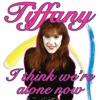Tiffany - I Think We're Alone Now (Re-Recorded) artwork