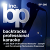 Backtracks Professional Karaoke: In the Style of Broadway Musicals (Songs from Joseph and the Amazing Technicolor Dreamcoat) - BP Studio Musicians