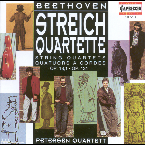 ‎Beethoven: String Quartets Nos  1 and 14 by Petersen Quartet