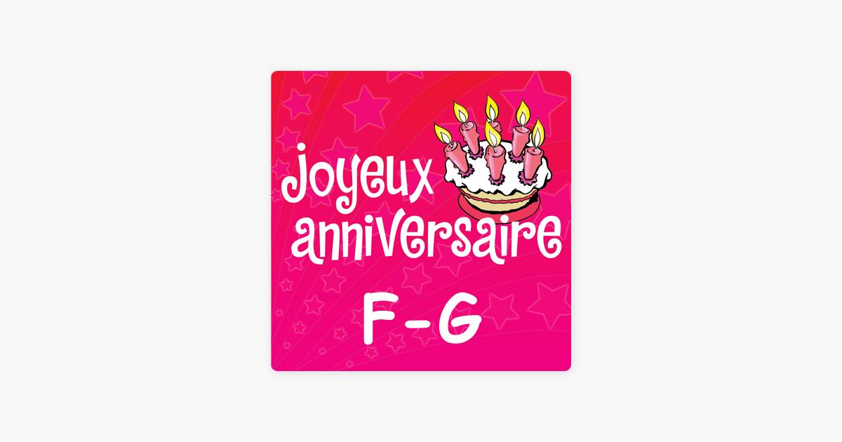 Prenoms Filles F G By Joyeux Anniversaire On Apple Music